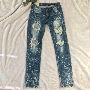 Machine 🇮🇹 Destroyed Jeans